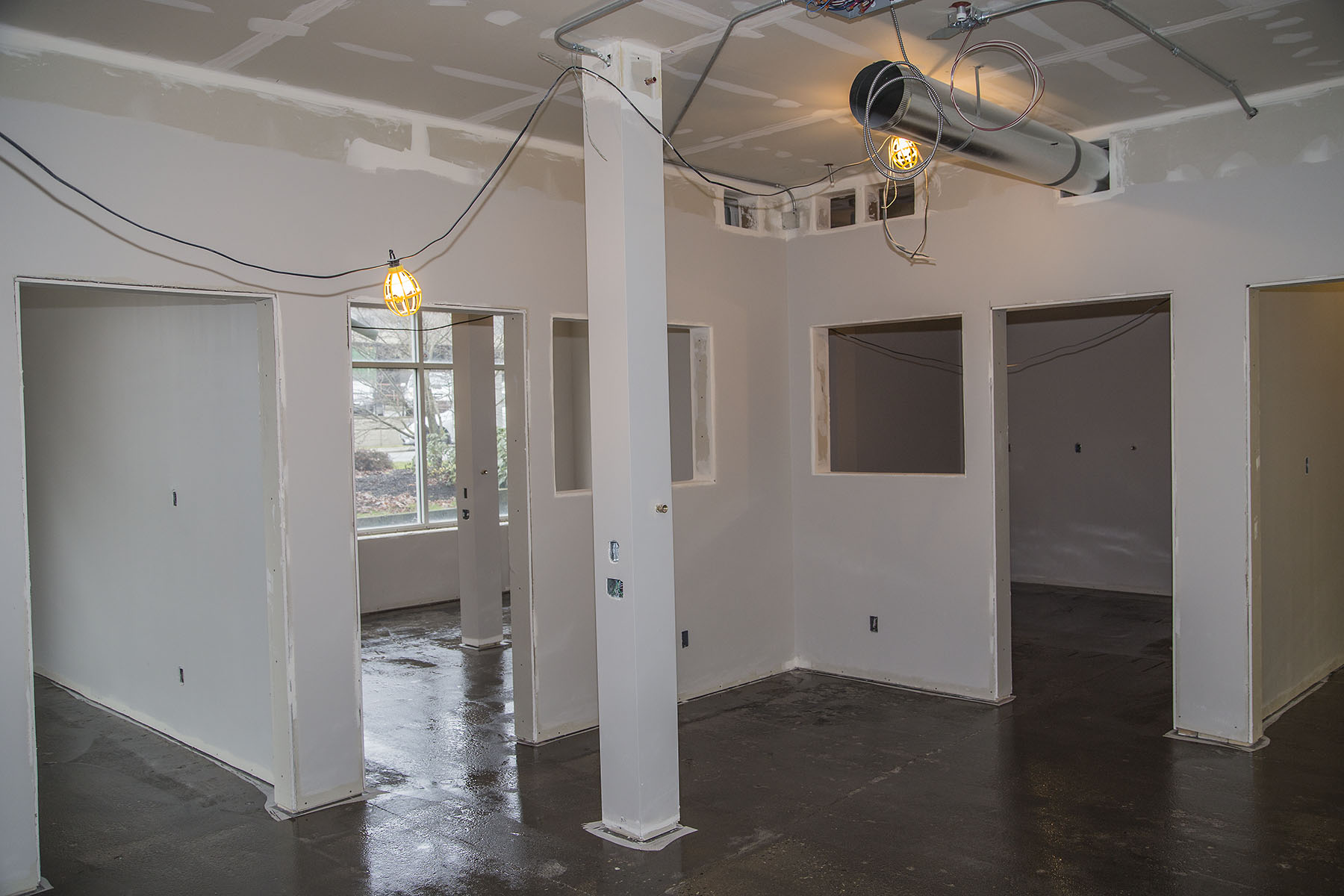 Dry Wall Construction : Commercial drywall projects